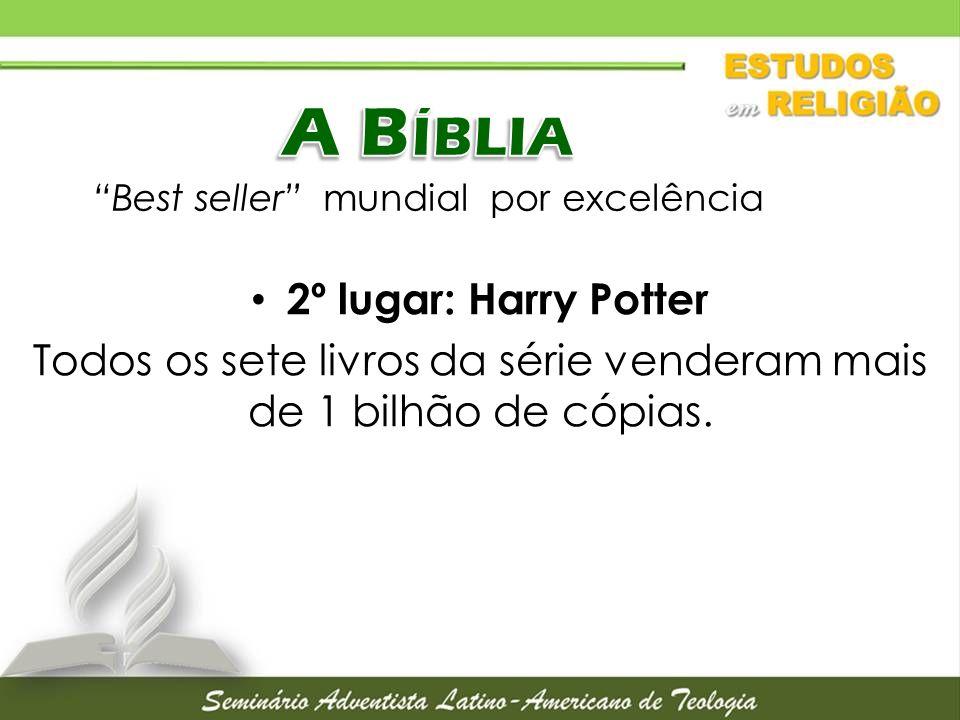 A Bíblia Best seller mundial por excelência