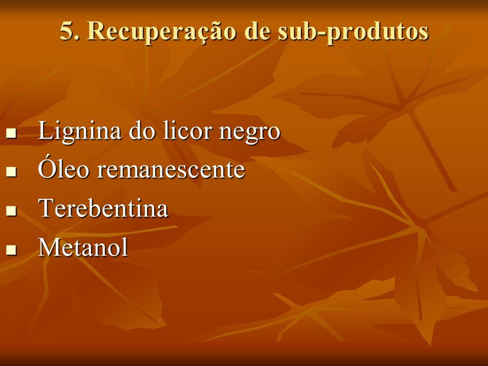 5. Recuperação de sub-produtos
