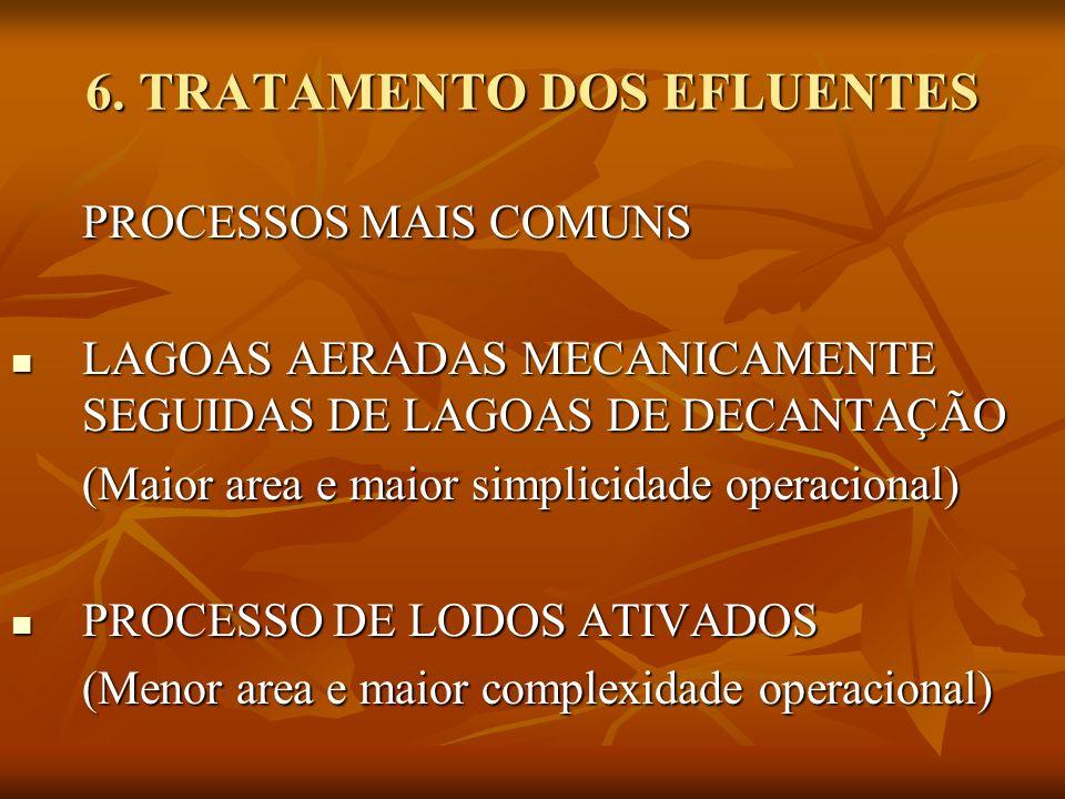 6. TRATAMENTO DOS EFLUENTES