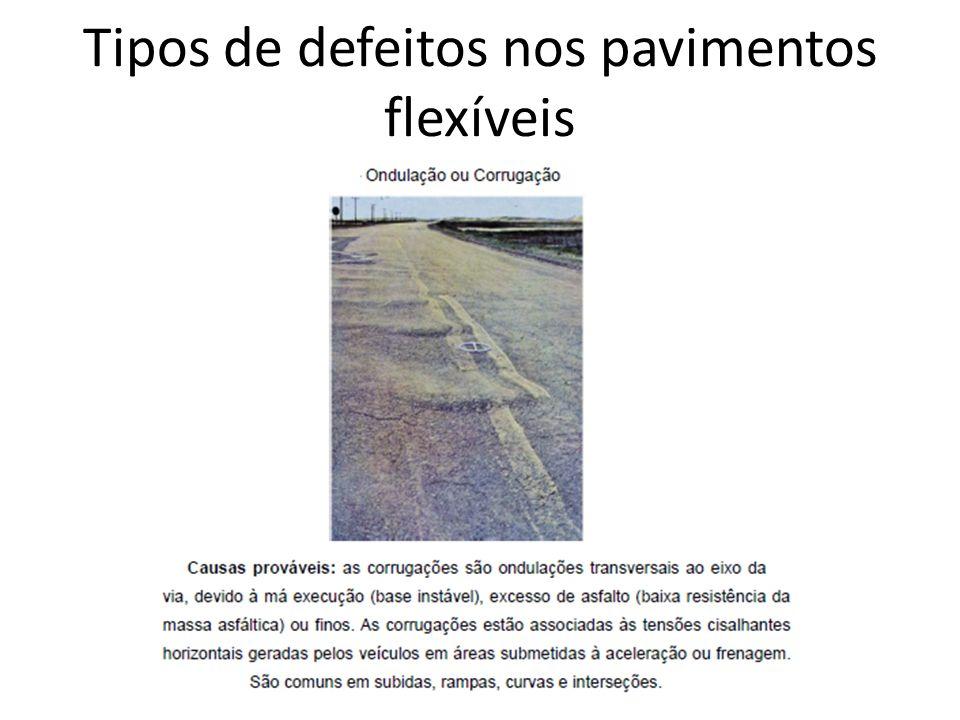 Defeitos nos pavimentos das rodovi rias ppt video online - Tipos de pavimentos ...