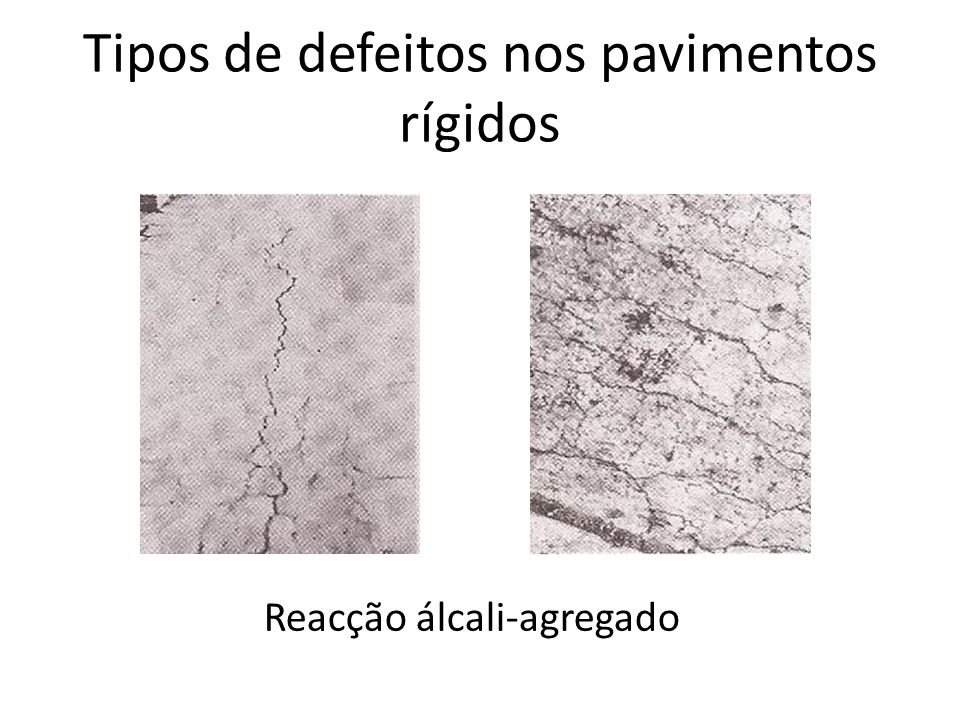 Defeitos nos pavimentos das rodovi rias ppt video online carregar - Clases de pavimentos ...
