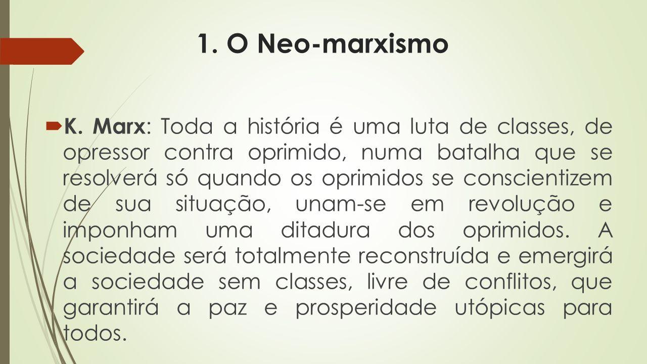 6. La esencia del Neo-Marxismo ...