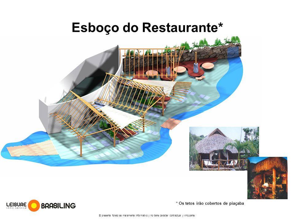 Esboço do Restaurante*