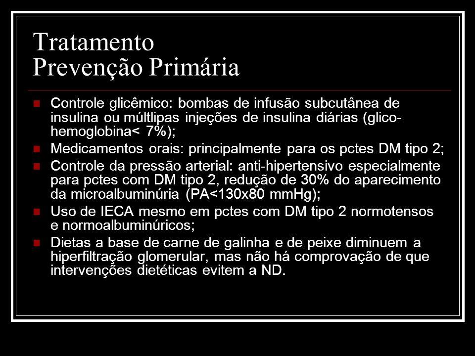 Tratamento Prevenção Primária