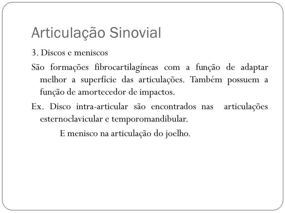Articulação Sinovial