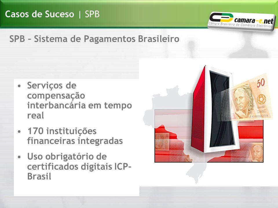 Casos de Suceso | SPB SPB – Sistema de Pagamentos Brasileiro. Serviços de compensação interbancária em tempo real.