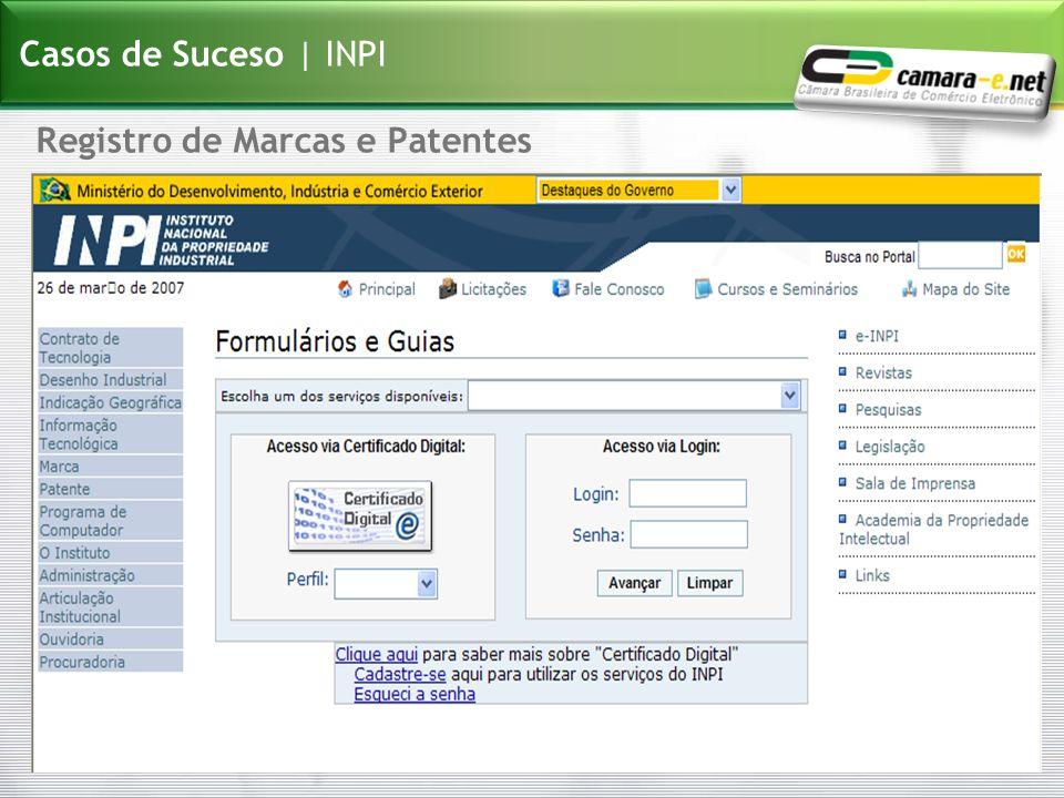 Casos de Suceso | INPI Registro de Marcas e Patentes