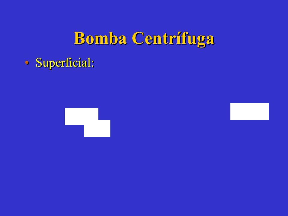 Bomba Centrífuga Superficial:
