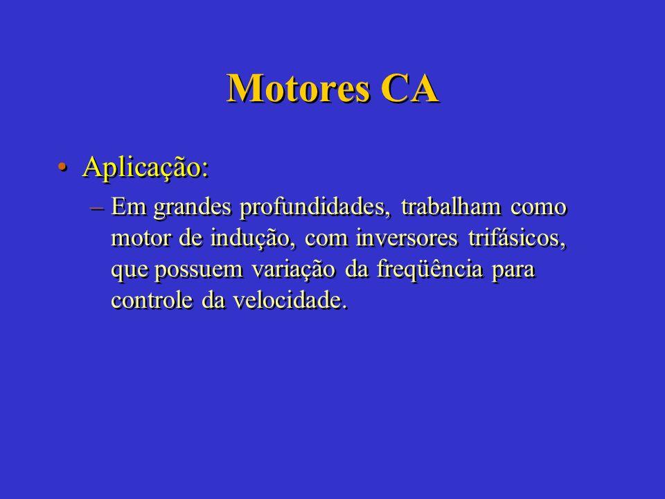 Motores CA Aplicação: