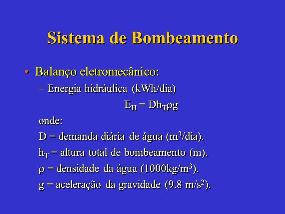 Sistema de Bombeamento