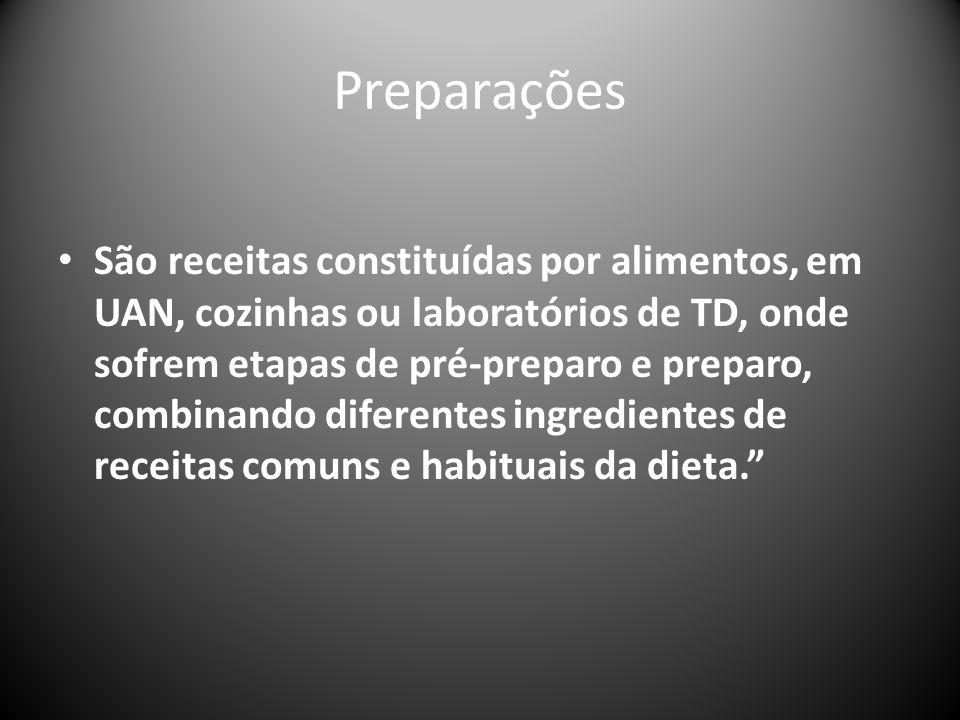 Preparações