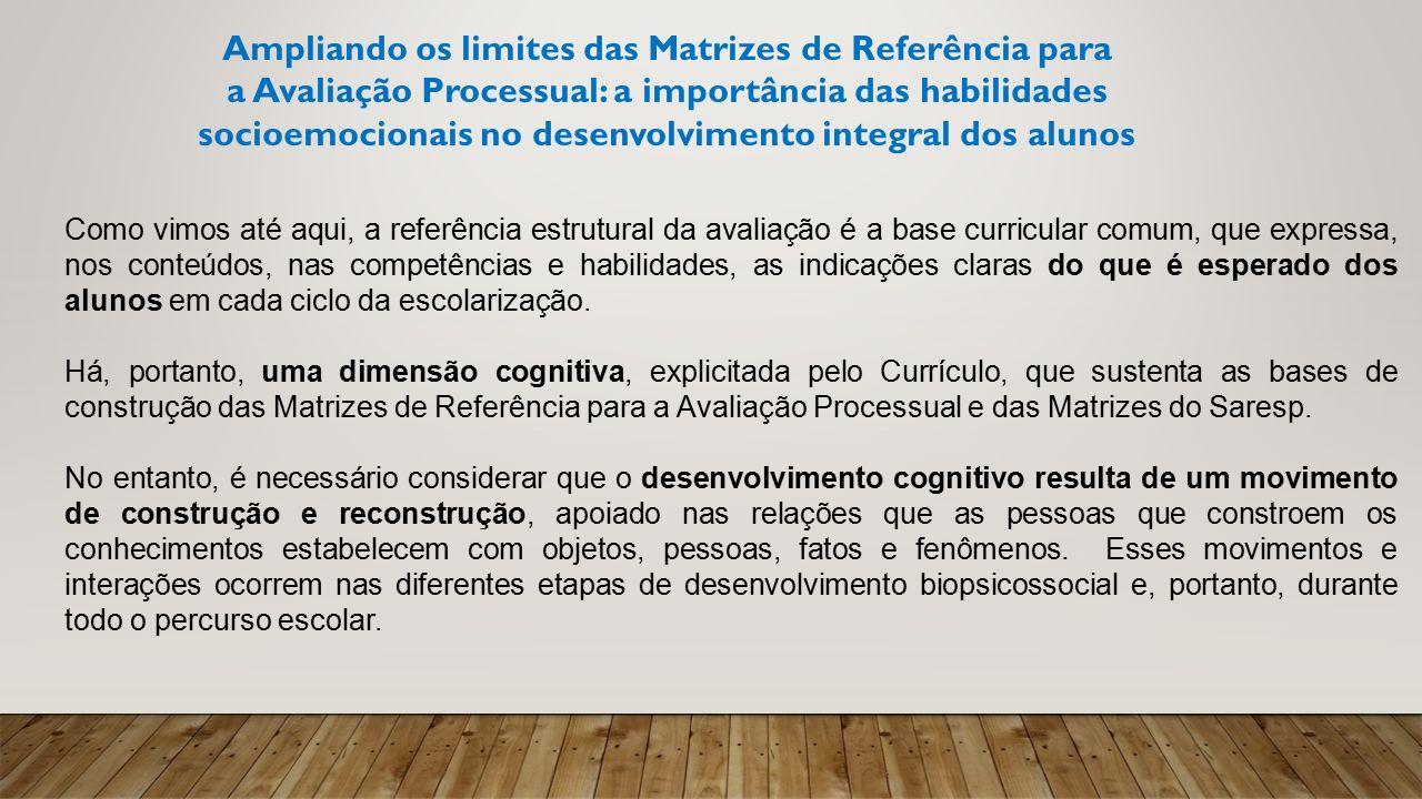 Ampliando os limites das Matrizes de Referência para
