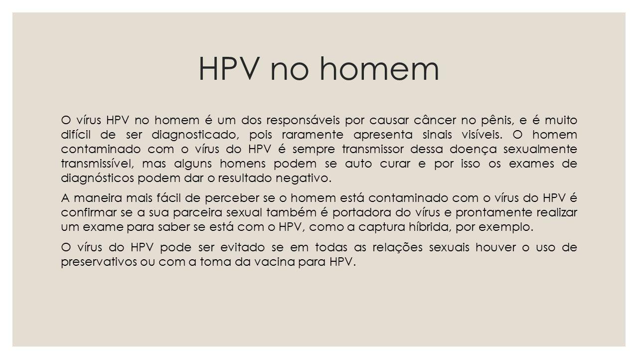 HPV no homem