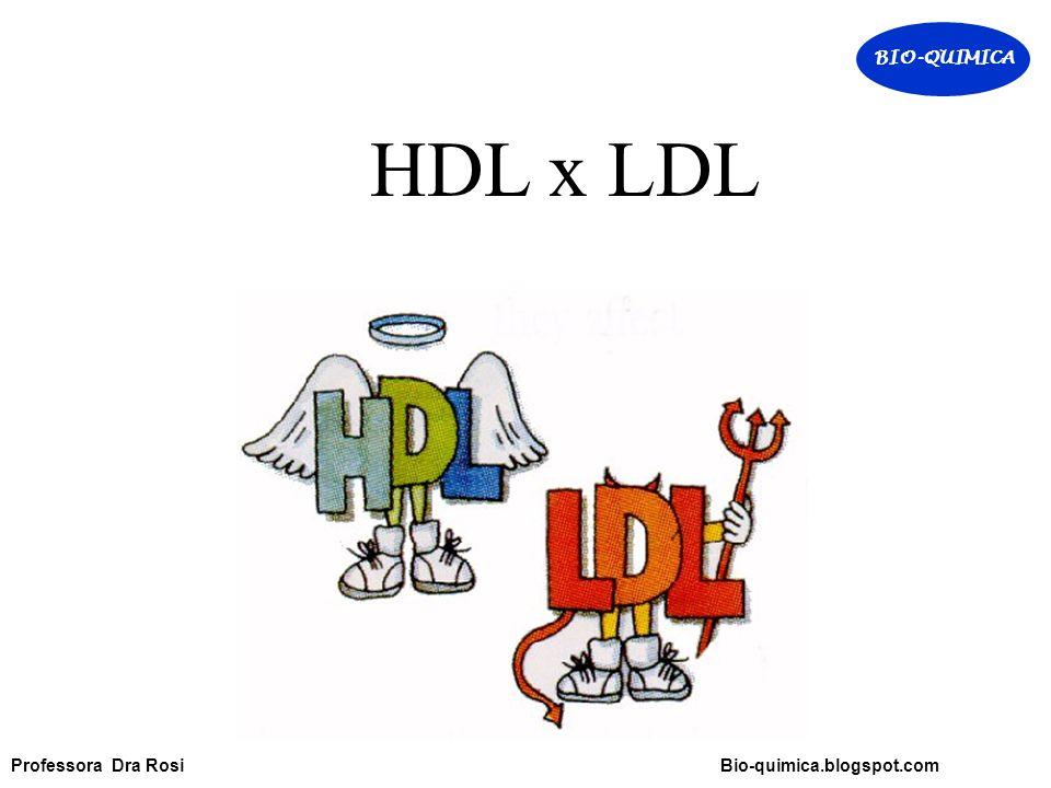 BIO-QUIMICA HDL x LDL.