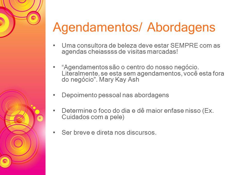 Agendamentos/ Abordagens