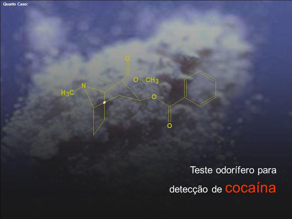 Quarto Caso: Teste odorífero para detecção de cocaína