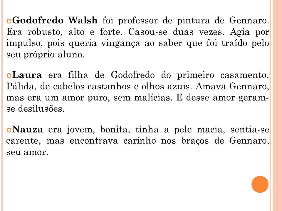 Godofredo Walsh foi professor de pintura de Gennaro