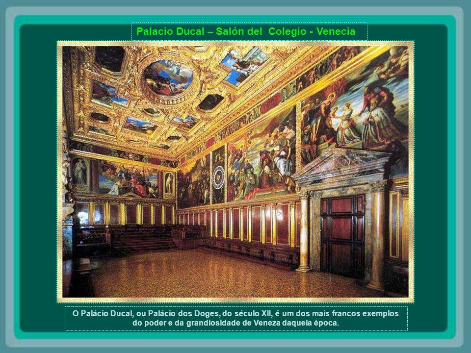 Palacio Ducal – Salón del Colegio - Venecia