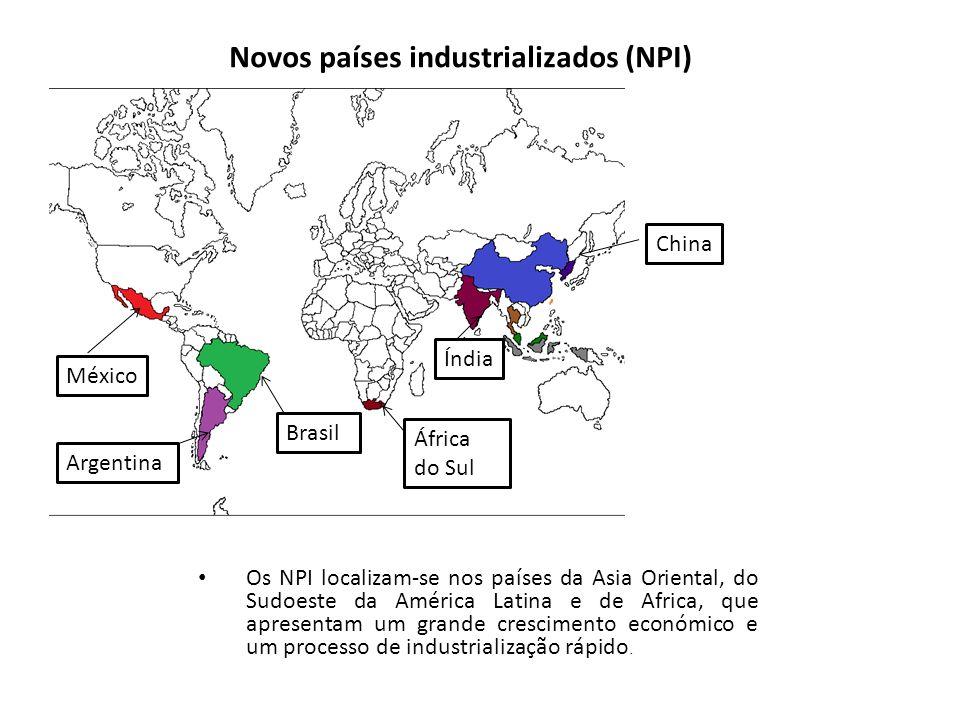 Novos países industrializados (NPI)