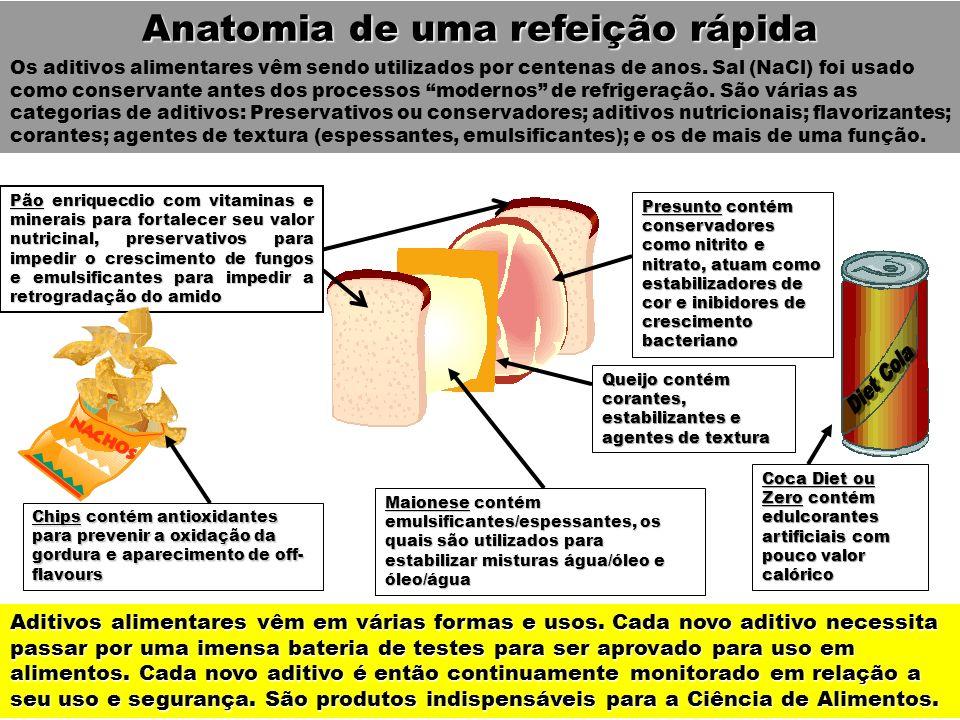 Anatomia de uma refeição rápida