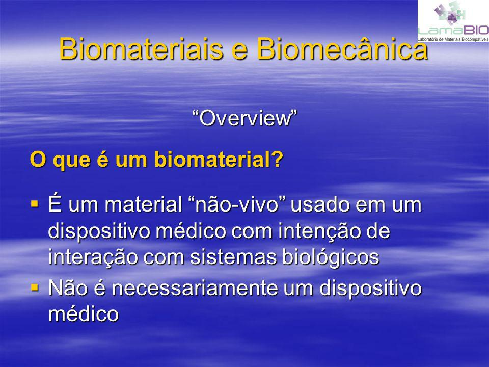 Biomateriais e Biomecânica