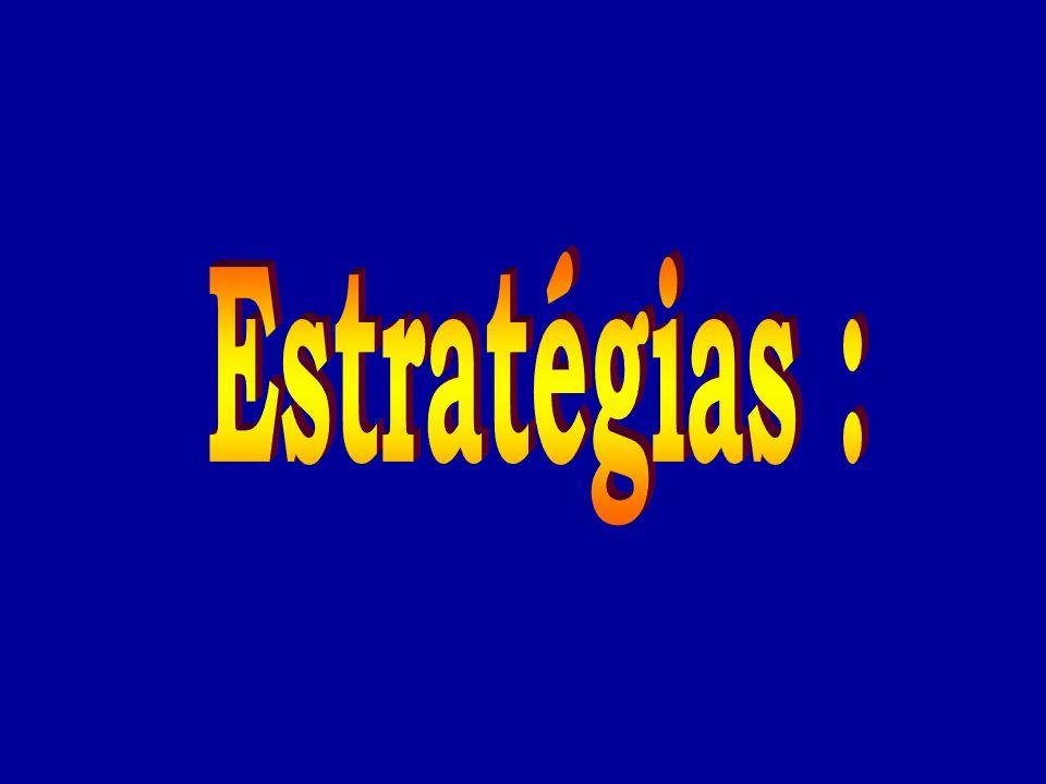 Estratégias :