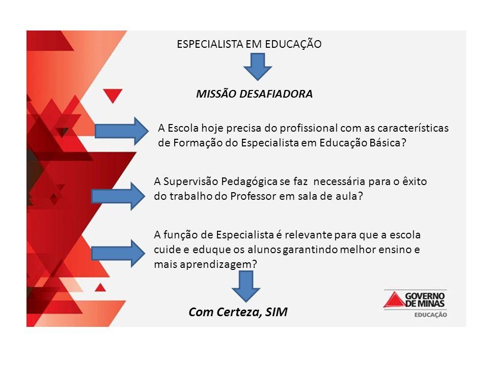 ESPECIALISTA EM EDUCAÇÃO BÁSICA MISSÃO DESAFIADORA