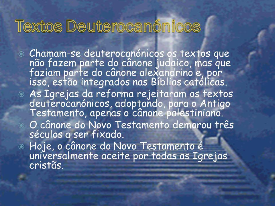 Textos Deuterocanónicos