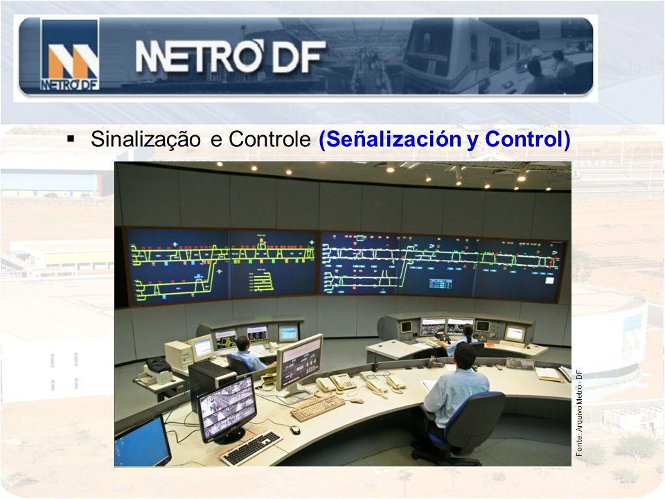 Sinalização e Controle (Señalización y Control)