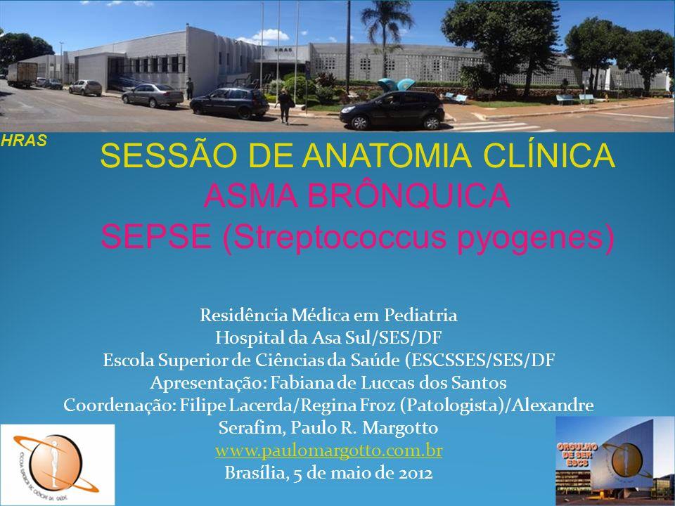 SESSÃO DE ANATOMIA CLÍNICA ASMA BRÔNQUICA