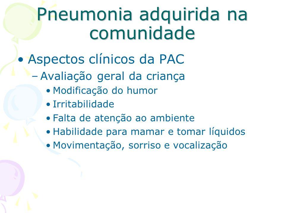 Pneumonia adquirida na comunidade