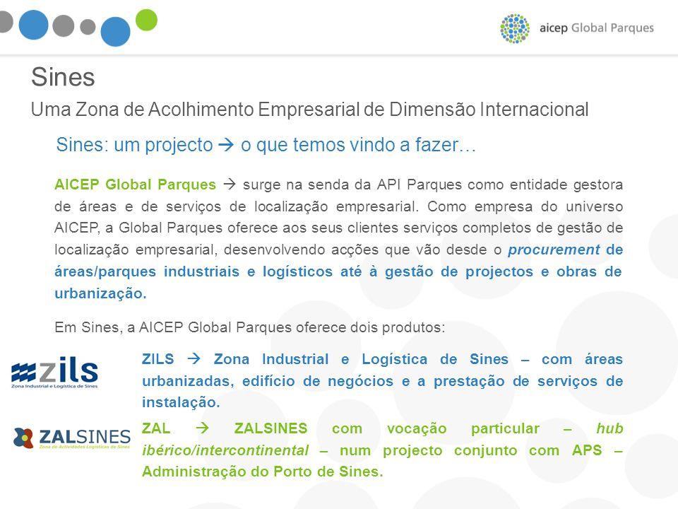 Sines Uma Zona de Acolhimento Empresarial de Dimensão Internacional