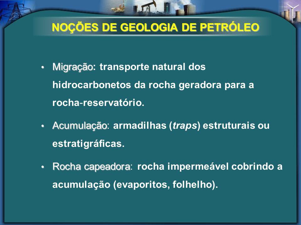 NOÇÕES DE GEOLOGIA DE PETRÓLEO
