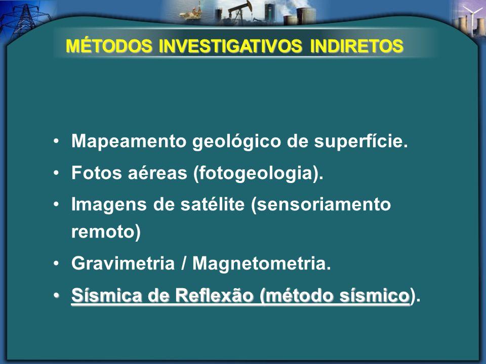 Mapeamento geológico de superfície. Fotos aéreas (fotogeologia).