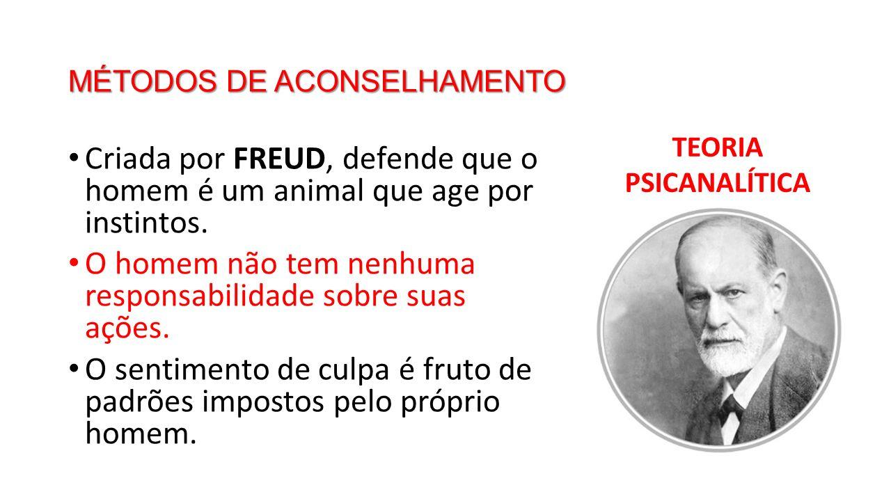 MÉTODOS DE ACONSELHAMENTO