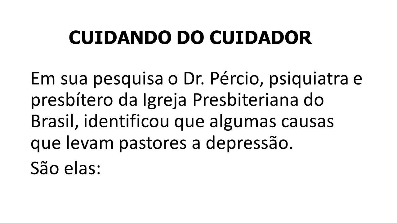 CUIDANDO DO CUIDADOR