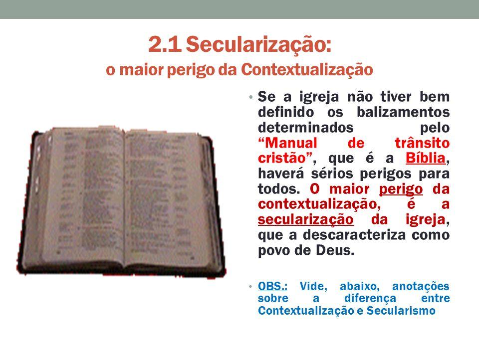 Deus Não Dá Fardo Maior Do Que Podemos Carregar: A CONTEXTUALIZAÇÃO DA IGREJA