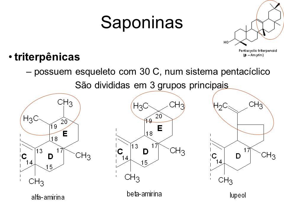 saponinas esteroidais neutras