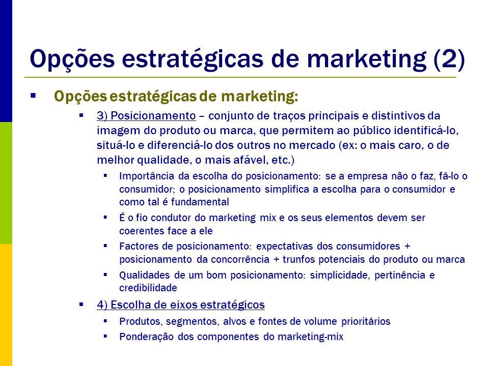 Opções estratégicas de marketing (2)