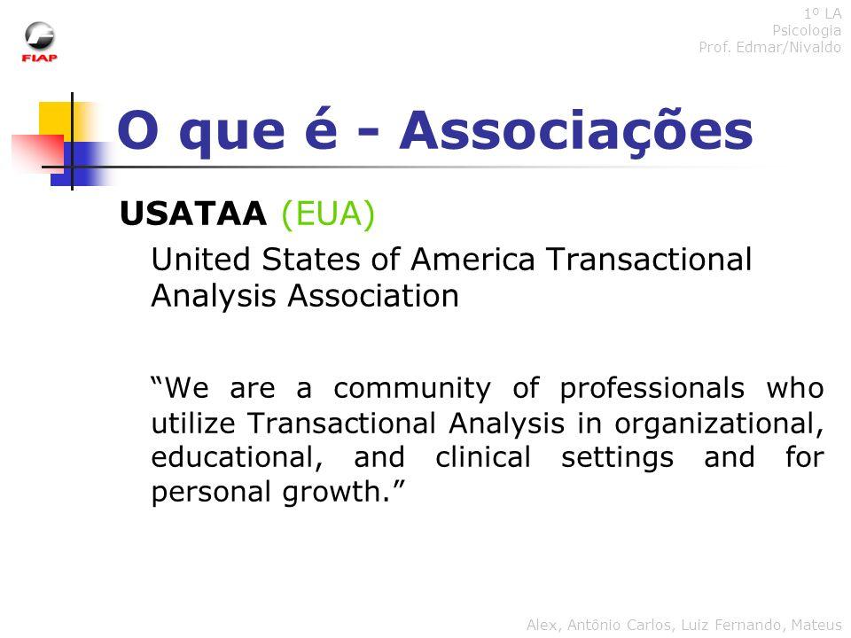 O que é - Associações USATAA (EUA)