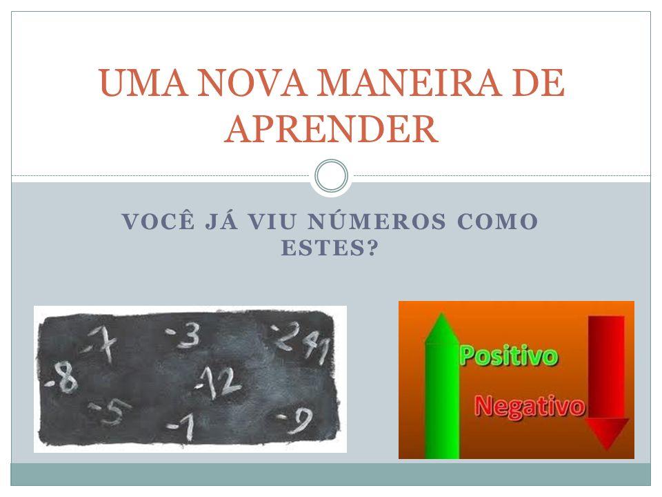 UMA NOVA MANEIRA DE APRENDER