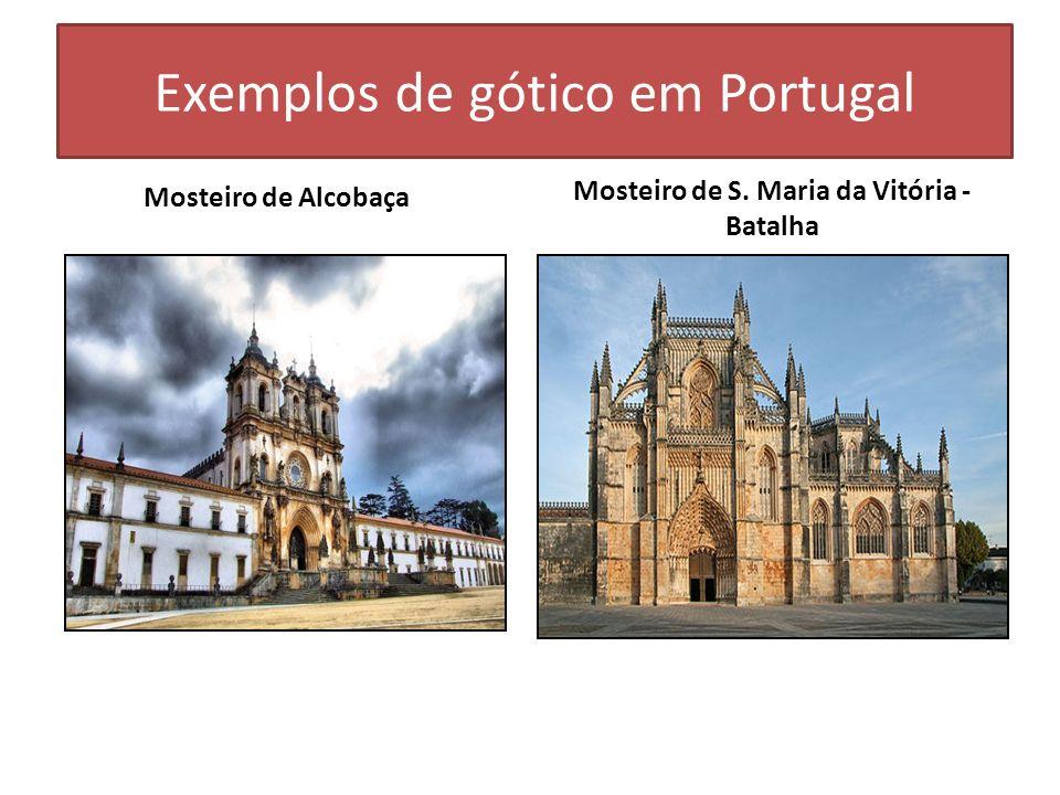 Exemplos de gótico em Portugal