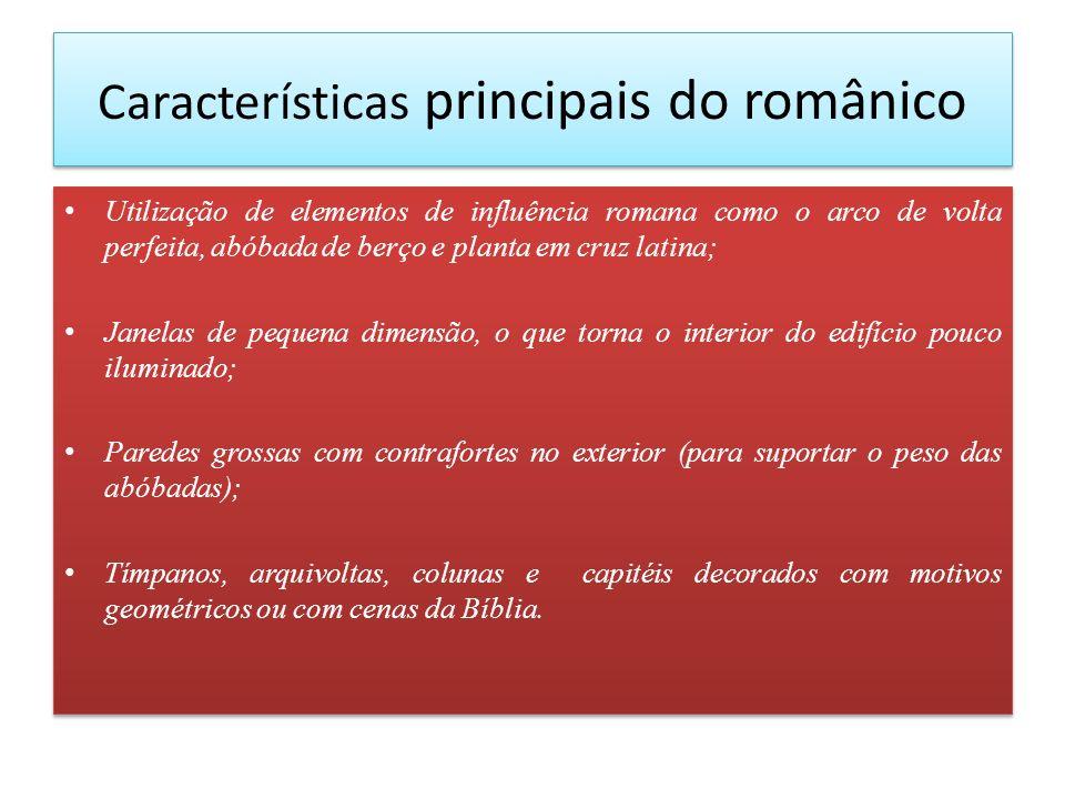 Características principais do românico