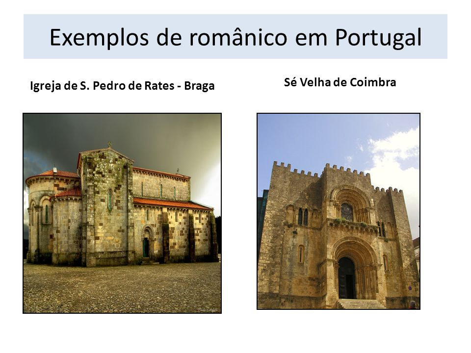 Exemplos de românico em Portugal