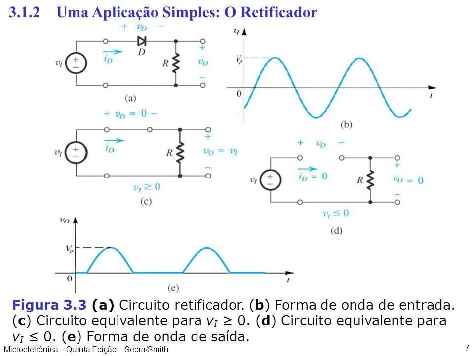 Circuito Retificador : Capitulo diodos ppt carregar
