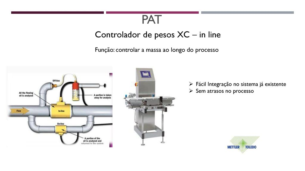 PAT Controlador de pesos XC – in line