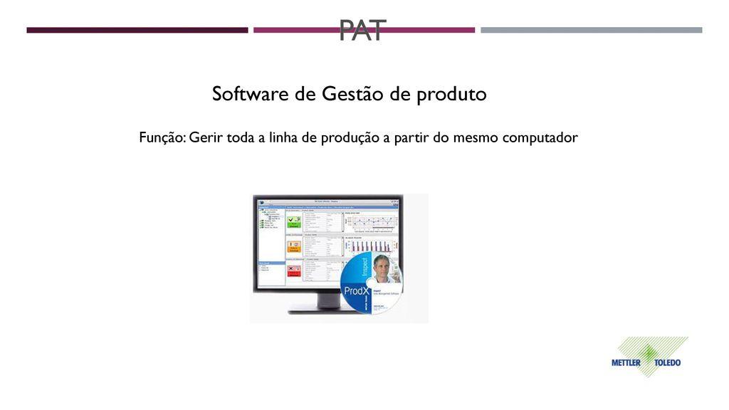 PAT Software de Gestão de produto