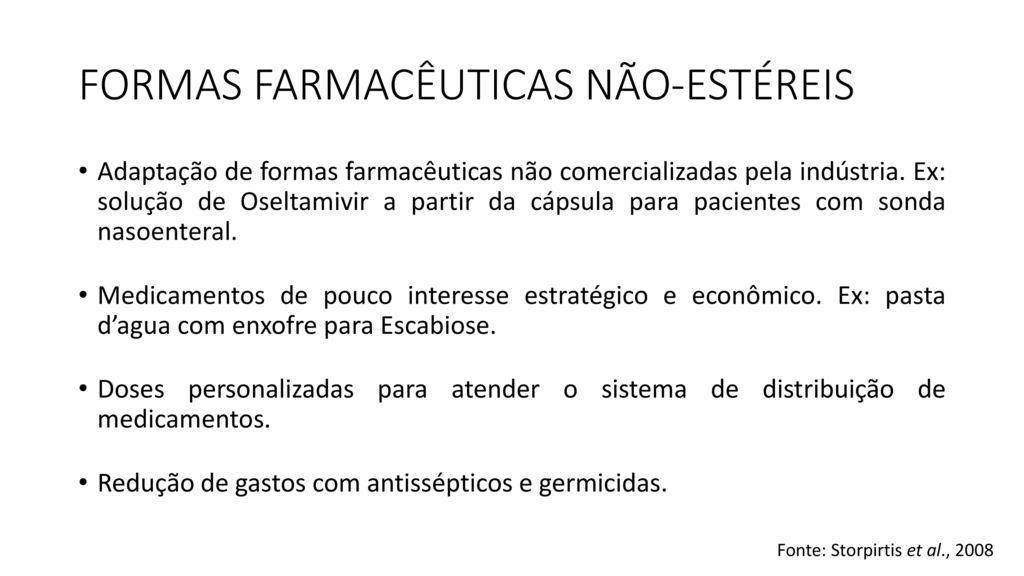 Fbf0432 fundamentos de farm cia cl nica e aten o for Sala quimioterapia requisitos