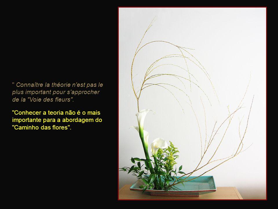 Connaître la théorie n est pas le plus important pour s approcher de la Voie des fleurs .