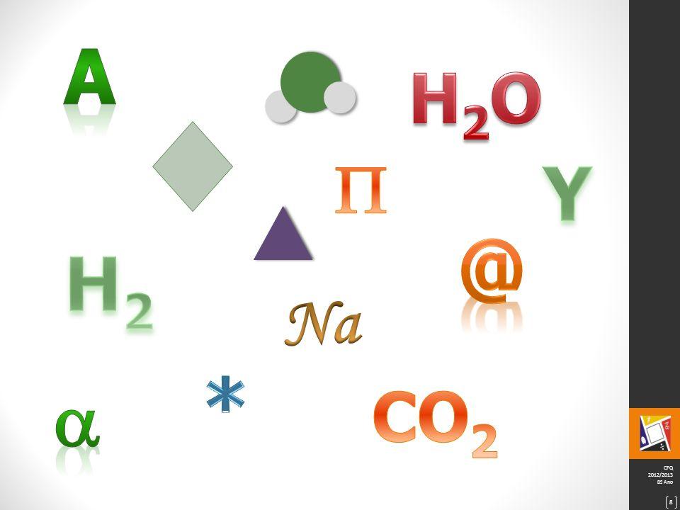 A H2O  Y @ H2 Na *  CO2